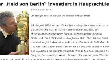 """FAZ: Der """"Held von Berlin"""" investiert in Hauptschüler"""