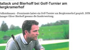 Münchener Merkur – Ballack und Bierhoff bei den GOFUS