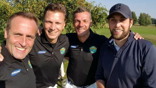 Bruttosieg: Nico Rulfs, Thorsten Kinhöfer, Karsten Hutwelker und Max Glauert