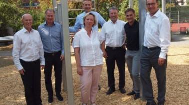 GOFUS und Bernhard Langer eröffnen nächstes PLATZ DA! Projekt in Augsburg