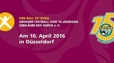 15 JAHRE GOFUS! Großer Jubiläums-Ball am 10. April in Düsseldorf