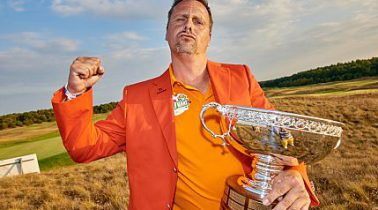 Sven Günther ist der Masters Champion. Große Geburtstags-Party in Bad Saarow.