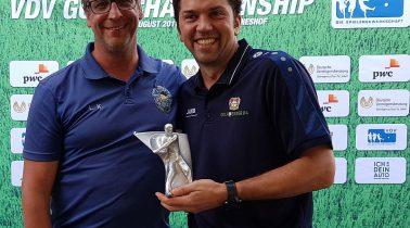 Hutwelker spielt 2 über Par und gewinnt die VDV Championship 2017