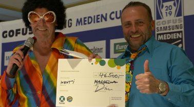 Gofus samsung medien cup spielt 46.500 Euro ein
