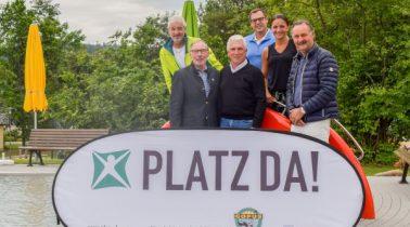 """10.000 € für Platz da! bei der """"4. Klaus Fischer Charity Open"""""""